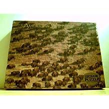 "American Buffalo Puzzle - 500 Pieces, 15.5 x 19.5 (25144)"""