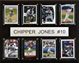 MLB Chipper Jones Atlanta Braves 8 Card Plaque