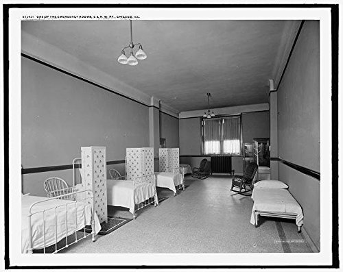 Photo: Chicago & North Western Railway,Chicago,Illinois,IL,Emergency Room,Railroad,RR