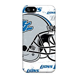 Perfect Detroit Lions Case Cover Skin For Iphone 5/5s Phone Case