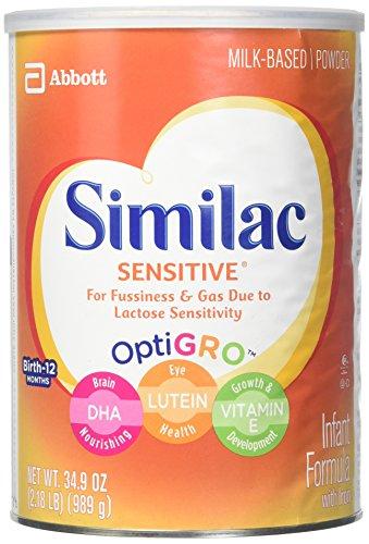 Similac Sensitive Baby Formula - Powder - 34 oz - 3 pk