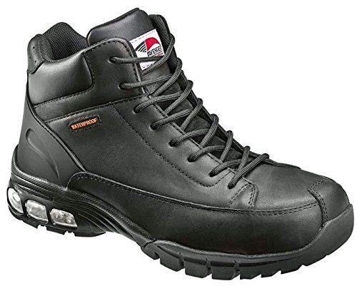 Avenger 7248 Waterproof  Comp Toe No Exposed Metal EH Boot with ABS  Cushioning,Black,7.5 M US by Avenger Safety Footwear