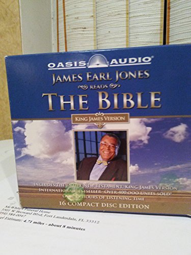 James Earl Jones Reads the Bible King James Version 16 Compact Disc. Edition the New Testament