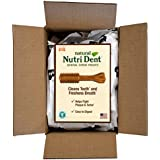 Nylabone Nutri Dent Natural Dental Chew Treats, Mini Dog Treats, 125 Count