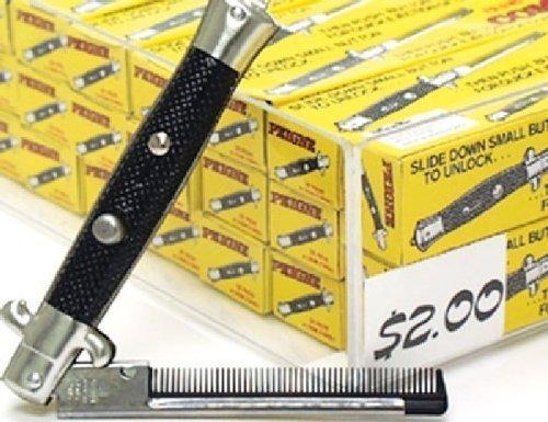 One Dozen Switchblade Comb