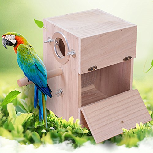 YJJKJ Bird Breeding And Nesting Cage Box (M)