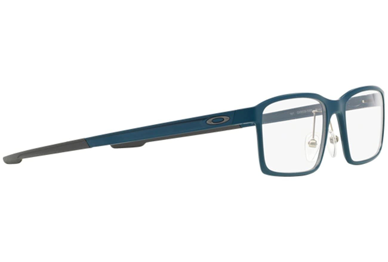 057ca33998 Oakley Unisex Eyewear Frames Milestone OX8038-0352 52mm Blue Steel  Amazon. co.uk  Clothing