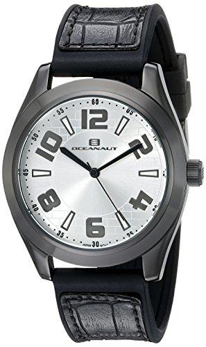 Oceanaut Men's OC7512 Analog Display Quartz Black Watch