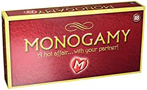 Creative Conceptions Monogamy A Hot Affair with Your Partner Board Game, 940 Gram