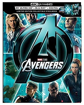 Avengers Quadrilogy 4K (2012-2019)