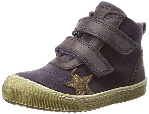 BisgaardKlettschuhe - Zapatillas altas Unisex Niños Violett (5006-1 Purple)