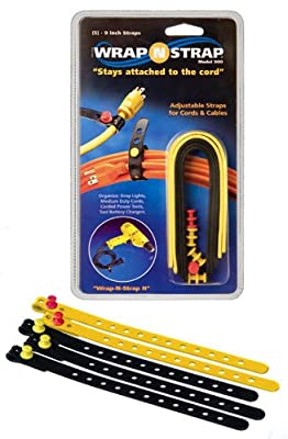 "Wrap-N-Strap Cable Ties 9"" by KMC Music Inc"