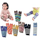 Luckystaryuan ® Prime Day Sale!! Set of 6 Combed cotton Baby Kneepads Leg Protector