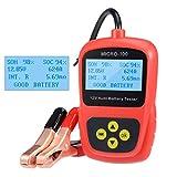 uxcell Digital 12v Car Battery Tester Checker Analyzer for Flooded AGM Gel Battery Load Cranking Alternator Tester