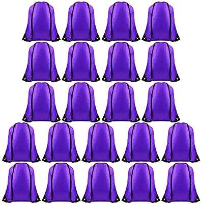 FEPITO 22 Pack Bolsas de Cordones Cadena Mochila Bolsa de Asas a ...