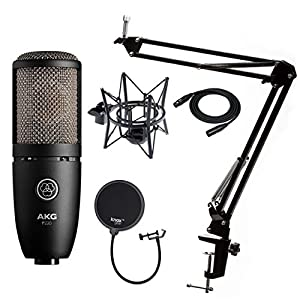AKG P220 Condenser Microphone with Knox Gear ...