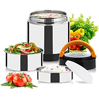 Amazon Com Fatmingo Stainless Steel Thermal Food