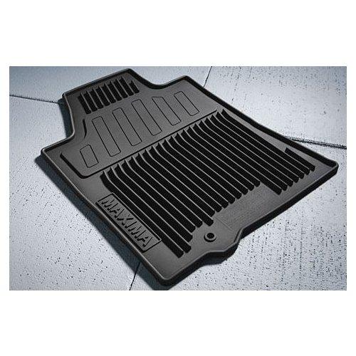 OEM Nissan Maxima Black All Weather Rubber Floor Mats 999E1-MV000BK