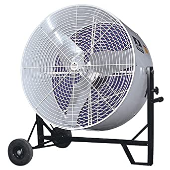 Black 36 2 Speed Schaefer Ventilation VKM36-2-B-O Versa-Kool Mobile Spot Cooler Fan OSHA Guards