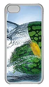 Personalized iPhone 5c Cases - Unique Cool Design Fresh Watermelon