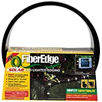 FiberEdge Solar LED Lighted Fiberglass Edging