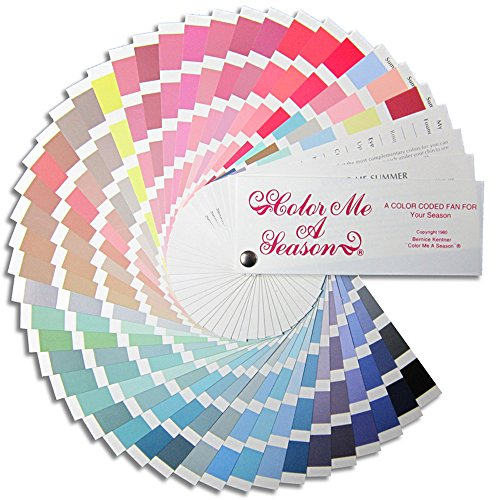 color analysis swatch fan - 1