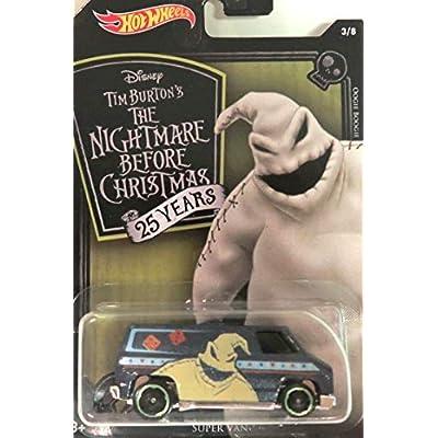 Hot Wheels 2020 Nightmare Before Christmas 8 Car Bundle: Toys & Games