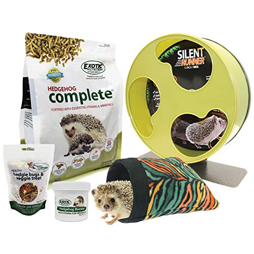 (Exotic Nutrition Starter Package for Hedgehogs)