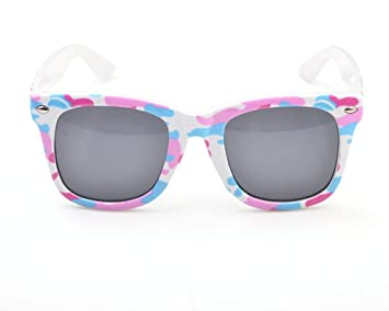 Wa Niño Junior Cool camuflaje Sol Polarizadas Gafas de sol camuflaje, rosa