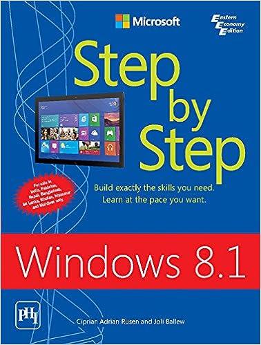 Book Windows 8.1 Step By Step