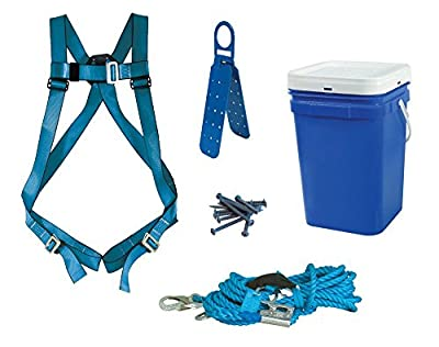 Tractel N0850S Quik-Mount Lite Roofing Safety Clip System, White Pail