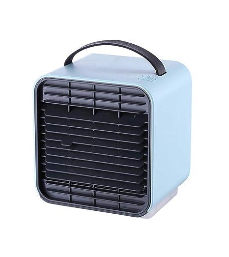 HHXWU Ventilador USB Carga Aire Acondicionado Ventilador ...