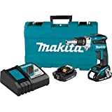 Makita XSF04R 18V LXT Lithium-Ion COMPACT Brushless Cordless 2, 500 Rpm Drywall Screwdriver Kit (2.0Ah)