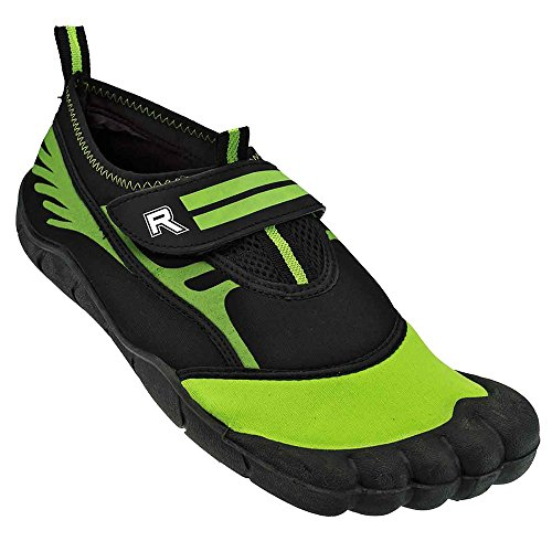 Rockin Footwear Herren Rockin Aqua Foot Wasserschuh Grün