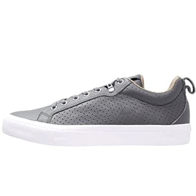 Converse Fulton Thunder Grey Leather Trainers  Amazon.co.uk  Shoes   Bags 2fbf132b9