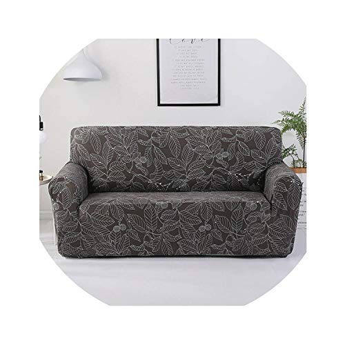 Clayton M Bracewell Spandex Sofa Cover Stretch Sectional Couch Cover Sofa Set Sofa Covers for Living Room House Slipcover 1/2/3/4 Seater,Color 24,1-Seater(90-140Cm)
