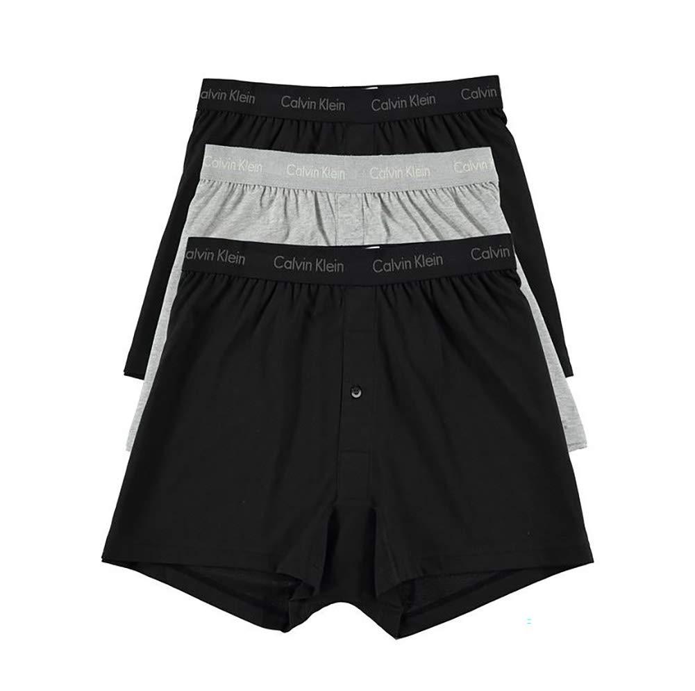 Calvin Klein Men's Cotton Classics 3 Pack Knit