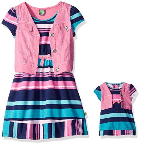 Dollie Me Girls Striped Jersey
