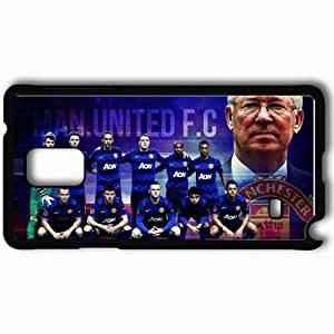 Personalized Samsung Note 4 Cell phone Case/Cover Skin 2013 unique manchester united Black