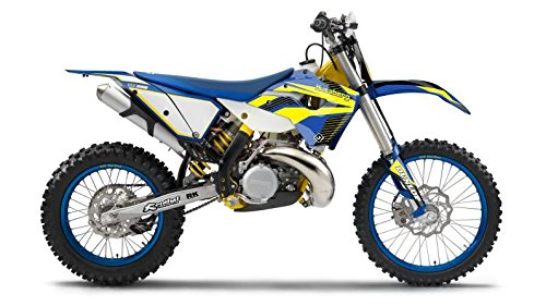 FLU Designs F-51200 PTS Graphic Kit for Husaberg TE