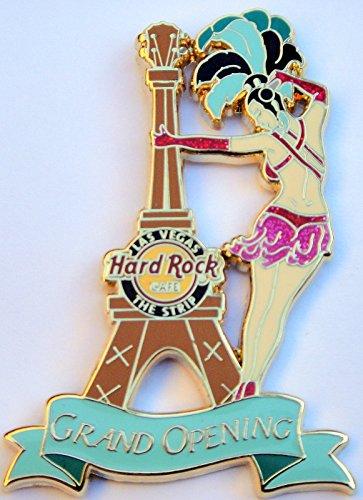 2009 Grand Opening Showgirl Eiffel Tower Hard Rock Cafe Las Vegas The Strip