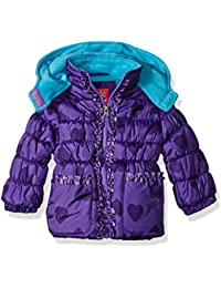 Baby Girls' Infant Tonal Heart Print Puffer Jacket