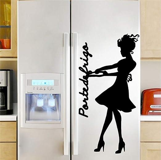 Cartel de la puerta del refrigerador Tire de la etiqueta de ...