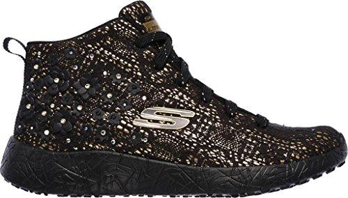 Skechers Burst Seeing Stars High Top Mujer US 5 Negro Zapatillas