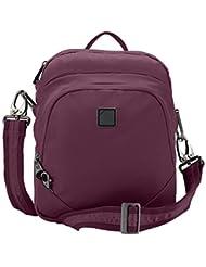 Lewis N. Clark Secura Anti-theft Convertipack Sling Backpack, Plum