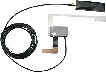 LEXXSON DAB/DAB+Radio Digital Portátil DAB+ Radio Sintonizador Receptor con Antena USB Dongle para la mayoría de las radios estéreo de coche Android