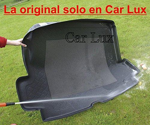 Car Lux AR01916 Alfombra Bandeja Cubeta Protector cubre maletero a medida con antideslizante para el 5008