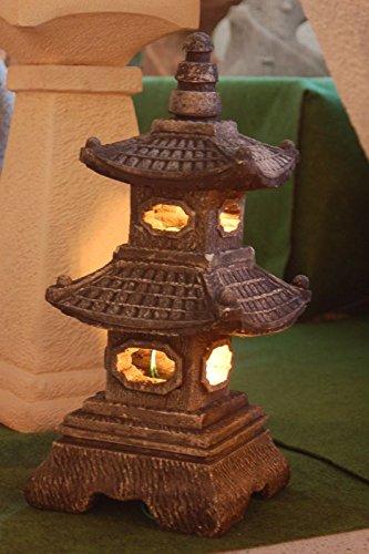 Lámpara jardín japonés Piedra