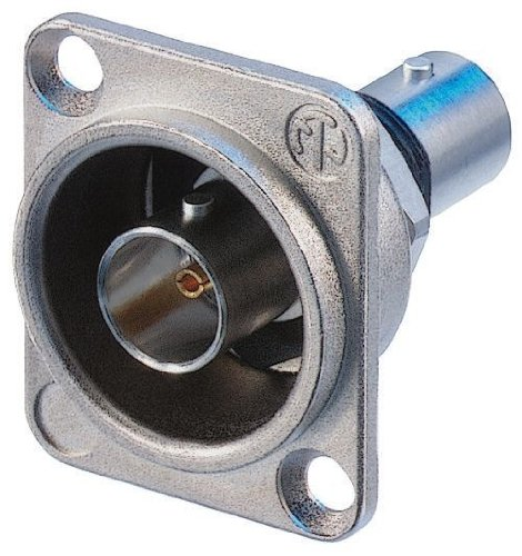 Neutrik NBB75DFI Panel Jack BNC D-Style Feed-Through, used for sale  Delivered anywhere in Canada