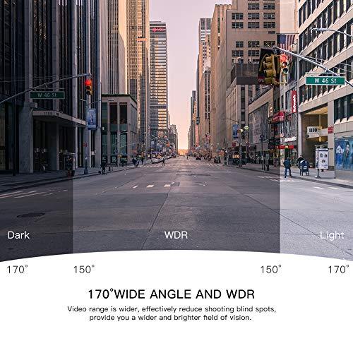 APEMAN Dash Full HD Driving Recorder Angle, Motion